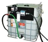 Резервуар для хранения дизельного топлива на 1000 литров еврокуб