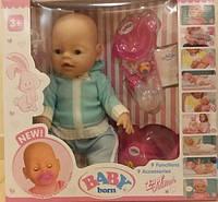 Кукла-пупс Baby Born, Оригинал, девять функций. BL-88834.
