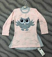 Платье-туника для девочек 86-128см (большемерят)