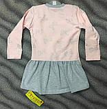 Плаття-туніка для дівчат 86-92 см (большемерят), фото 2