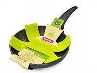 Сковорода для жарки 20 см с каменным антипригарным покрытием Fissman Grey Stone (AL-4968.20)