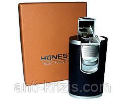 Зажигалка-горелка HONEST №2995-оригинал,подарочная упаковка!