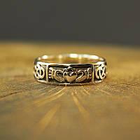 Кельтское Кладдахское кольцо из серебра