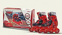 Роликовые коньки детские раздвижные Disney Cars Тачки 30-33 OR