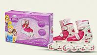Роликовые коньки детские раздвижные Disney Princess Принцессы 30-33 OR