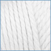 Пряжа для вязания Valencia Mango, 0601 (White) цвет