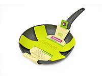 Сковорода для жарки 26 см с каменным антипригарным покрытием Fissman Grey Stone (AL-4970.26)