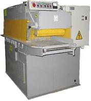 Многопильный станок СМ1В-150 Предназначен для распиловки двух-четырехкантных брусьев