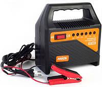 Зарядное устройство для автомобильного аккумулятора (индикаторное) 6-12В, 220V Miol 82-000