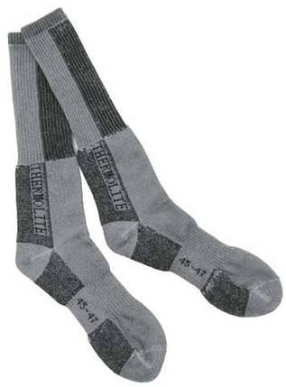 MFH носки зимние POLAR олива/белый, фото 2