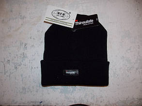 Шапка MFH Thinsulate черная, фото 2