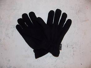 Перчатки флисовые  MFH, утеплитель Thinsulate ,чёрные, фото 2