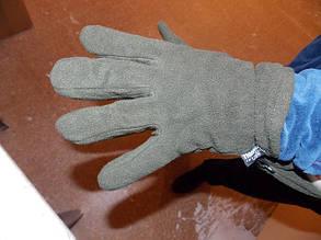 Перчатки флисовые  MFH, утеплитель Thinsulate ,олива, фото 2