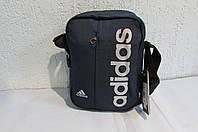 Сумка  Adidas (8236) тёмно-синяя код 0478 А