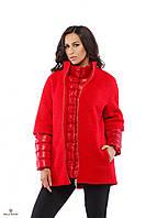 Пальто Т-17 Красный