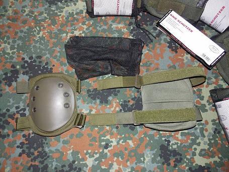 Тактические наколенники MFH .Олива, фото 2