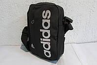 Сумка  Adidas (8236) черная код 0480 А
