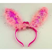 Ушки Кролика светящиеся (розовые) 021216-010