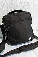 Сумка  Adidas (2041) черная код 0481 А