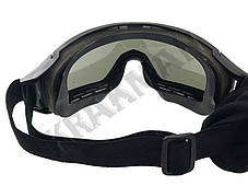 Очки защитные DESERT LOCUST - олива ||M51617060-OD, фото 3