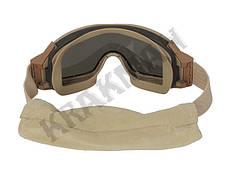 Очки защитные PROFILE - койот, фото 3