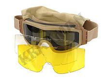 Очки защитные PROFILE - койот, фото 2