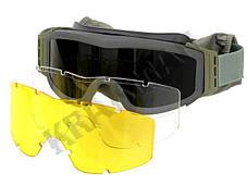 Очки защитные PROFILE - фолиаж, фото 3