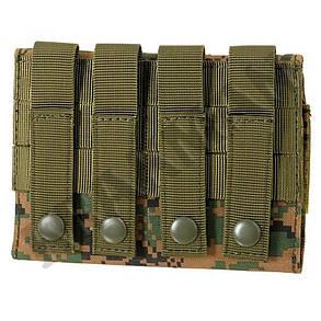 Патронташ для 6-ти патронов 12 кал. - Dig. Woodland  M51613002-DW, фото 2