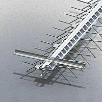 Бета профиль деформационных швов ремонтный ПДШ Rβ-70 min высота h 70мм, длина L 3м толщ. мет. 2,5мм