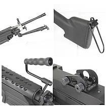 Пулемет M249 MKII PJ249 MKII [P&j], фото 3