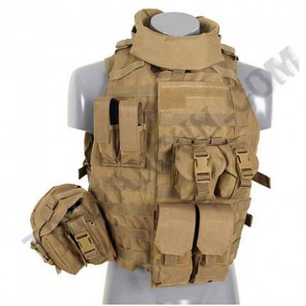 Разгруз. жилет Interceptor Body Armour койот ||M51611162-TAN, фото 2