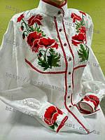 Блуза женская с вышивкой БЖ 18-16/03