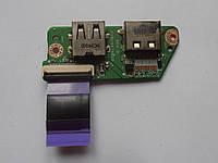 Шлейф, плата USB, HDMI Toshiba Satellite T130, T131, T132, T135, 3PBU3HB0020