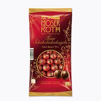 Шоколадные шарики Moser Roth Mini Chocoladenkugeln Edel Bitter 70%, 150 гр.