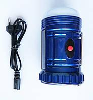 Фонарик аккумуляторный с солнечной панелью TopWell YJ-6816, туристический фонарь