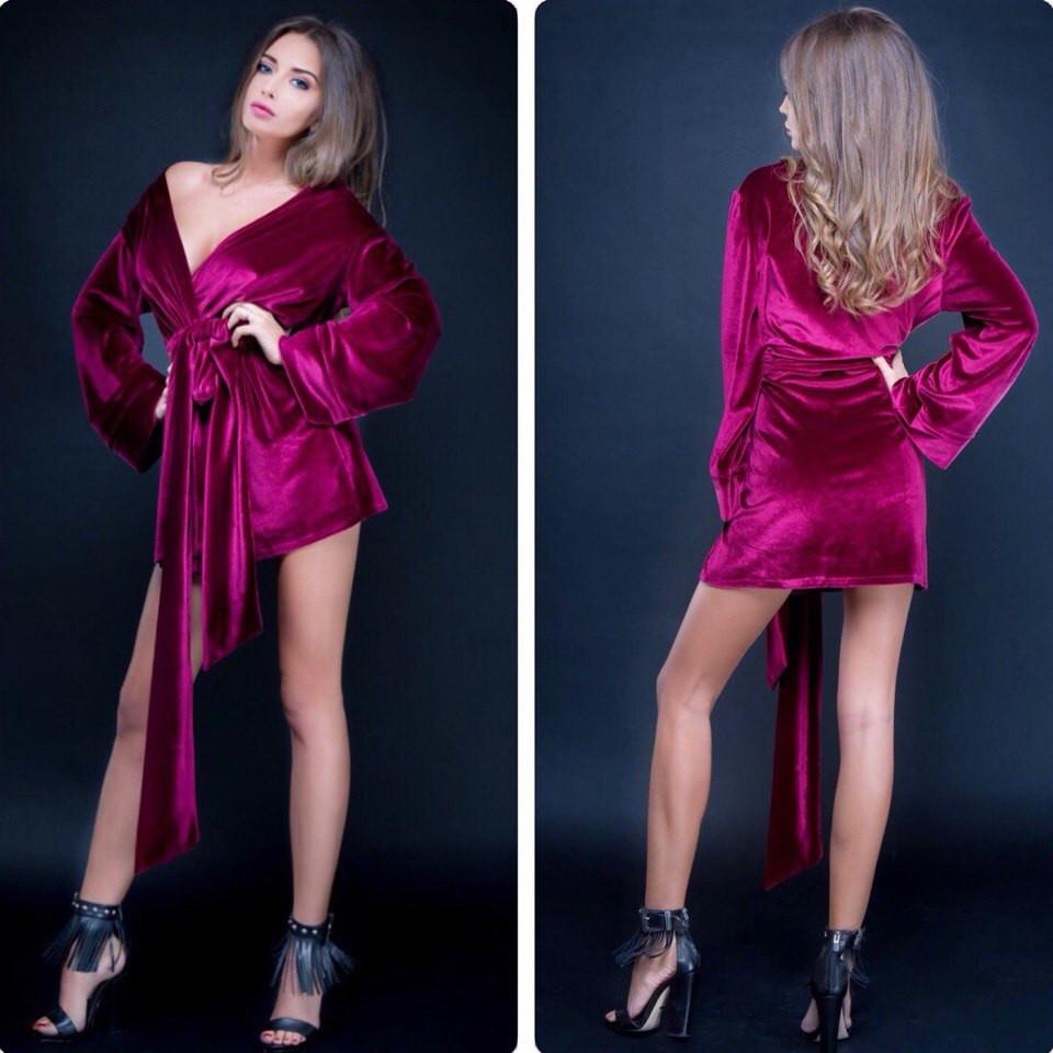 Женское платье-халат - eleganza.com.ua в Одессе