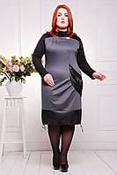 Женское платье  батал  Саманта 50-58 размеры