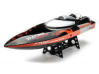 Катер на р/у 2.4GHz Fei Lun FT010 Racing Boat 65см (черный) FL-FT010b