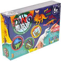 """Набор ручной росписи 3D моделей динозавров """"Dino Art"""""""