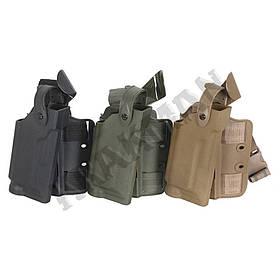 Кобура SLS для пистолета Beretta 92 набедренная - олива