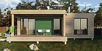 Каркасный дом Модерн-10, фото 1