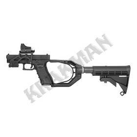Монтаж приклада для пистолета Glock 17 [ACM] - чёрный