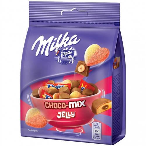 набор сладостей Milka Choco Mix Jelly 140 г