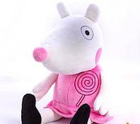 """Мягкая игрушка """"Овечка Сьюзи"""", из Свинки Пеппы, 38 см"""