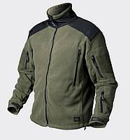 Куртка LIBERTY - Double Fleece - олива/черная ||BL-LIB-HF-16