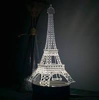 3D Светильник в виде Эйфелевой башни Paris