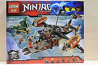 Конструктор Ninjago Цитадель несчастья 808 деталей