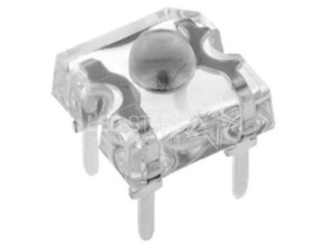 Светодиод Белый (5500K) пиранья 3 мм. FYLF-1860 UWC/S (прозрачный), 75° FORYARD