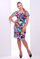 Летнее женское платье  Марго 54 размер