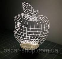 3D Світильник у вигляді Яблука